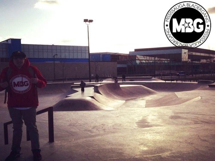 Norton Skatepark. Burlington