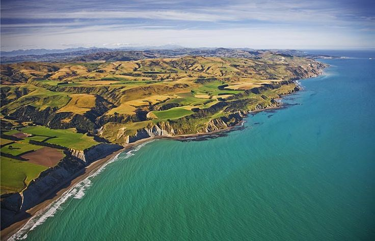 The Waipara coast, see more, learn more, at New Zealand Journeys app for iPad www.gopix.co.nz