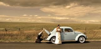 wedding photos with vw beetle - Google Search