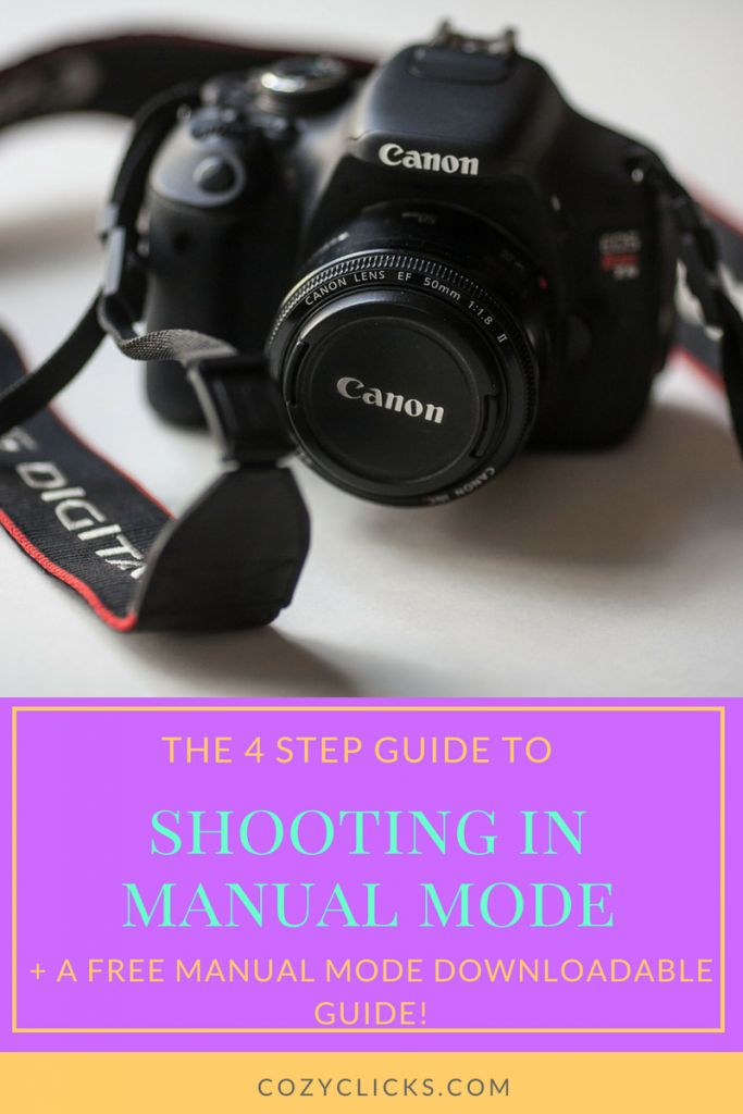 Wnat to swtich from auto to manual mode when shooting pictures. leanr how to easily master manual mode right here!