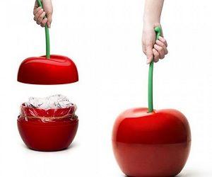 cherry trash can