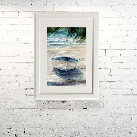 Printable wall art  Watercolor poster In the