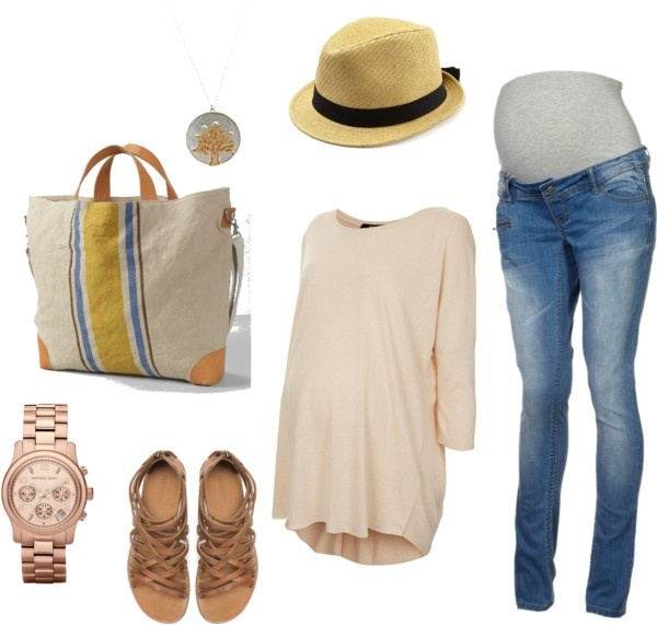 """""""British Summer Maternity"""" by emshutter on Polyvore"""