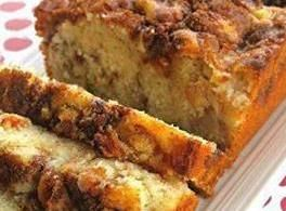 Apple Cinnamon Loaf http://www.justapinch.com/recipes/bread/sweet-bread/apple-cinnamon-loaf-2.html
