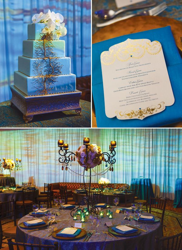 Eclectic Romance Wedding {Amber, Aqua, & Peacock}