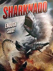 Sharknado. Watched it October 5, 2013. Wow - sharks, tornadoes and Steve from 90210
