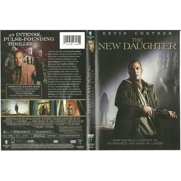 """Paper Label Artwork from DVD Case """"The New Daughter Kevin Costner"""" Label Only Listing in the Other,DVD,Movies & DVD Category on eBid Canada 