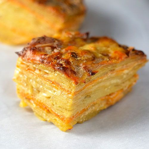 Two Layered Potatoes - Feed Your Soul Too