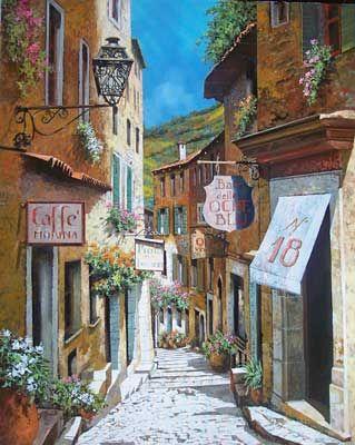 Stradina en Toscana by Guido Borelli