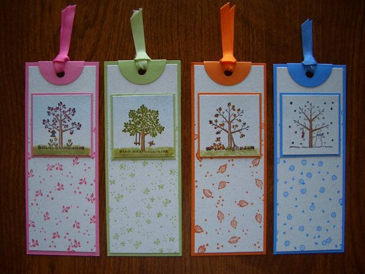 WT342 Seasonal Bookmarks by stampin'nana - Cards and Paper Crafts at Splitcoaststampers