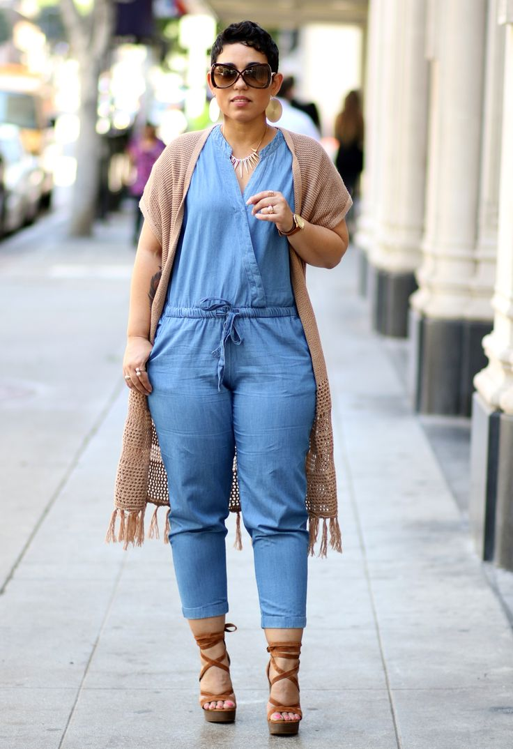 Dear Stylist, I would love to experiment with a casual jumpsuit that can be worn during the day or easily at night.