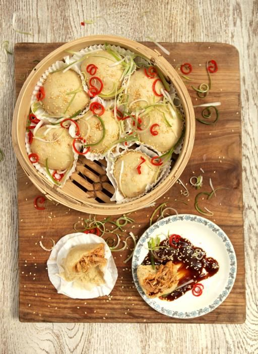 barbecued chicken dim sum | Jamie Oliver | Food | Jamie Oliver (UK) - I seriously love this guy.