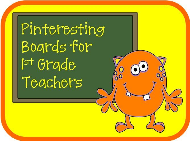 Pinteresting Boards for First Grade