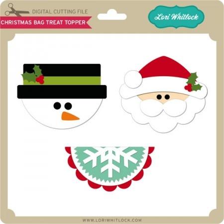 Christmas Bag Treat Holder
