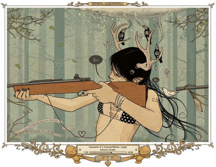 Oh my deer. Chiara Bautista (MILK)
