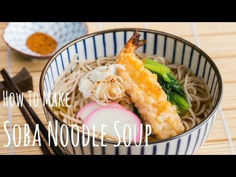 (So easy!) Soba Noodle Soup | Noodle Recipe | Just One Cookbook [Update: Great recipe, stock was pretty good, try doubling the bonito for the stock, it was a little weak, try with all kinds of toppings!]