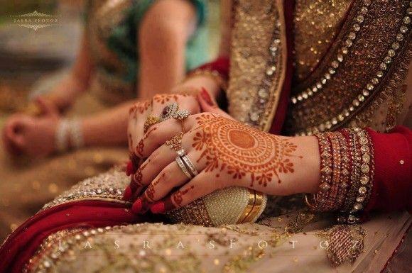Pakistani #Bridal Mehndi Designs Photos 2014