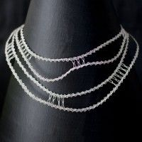 BLACK HOLE necklace by Mantzalin