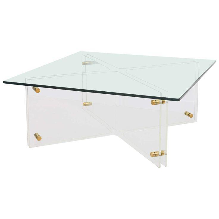 25+ best acrylic coffee tables ideas on pinterest   acrylic