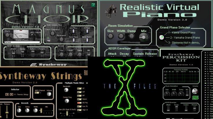 X Files Theme (Mark Snow) Realistic Virtual Piano, Magnus