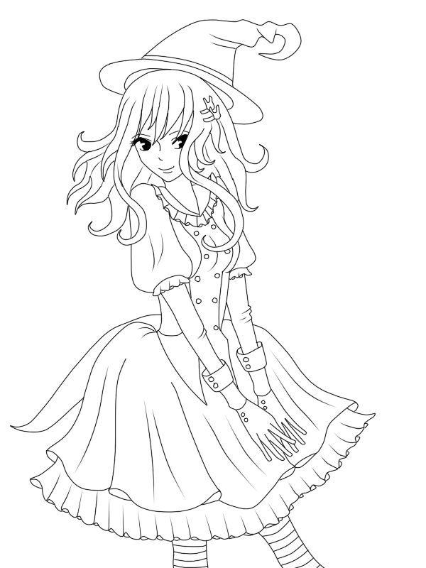Disney Witches Coloring Pages : W i t c h coloring google search anime art pinterest