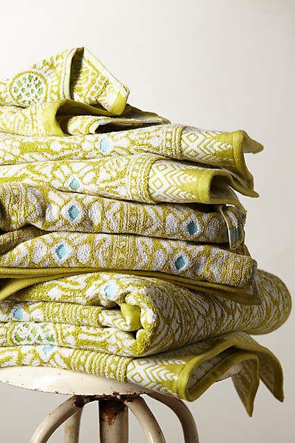 Marigold Towel Collection - anthropologie.com