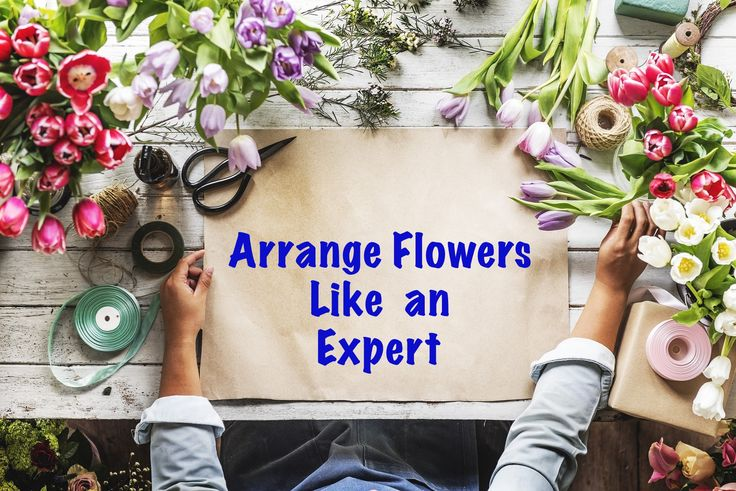 Save money and arrange supermarket flowers like an expert yourself!