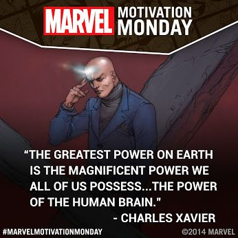 Marvel Motivation Monday- Charles Xavier
