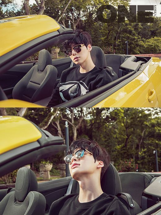 Ahn Jae Hyun - One Magazine July Issue '15