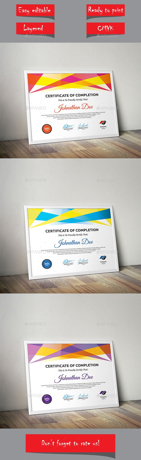 Certificate Template Vector EPS. Download here: http://graphicriver.net/item/certificate/13755813?ref=ksioks
