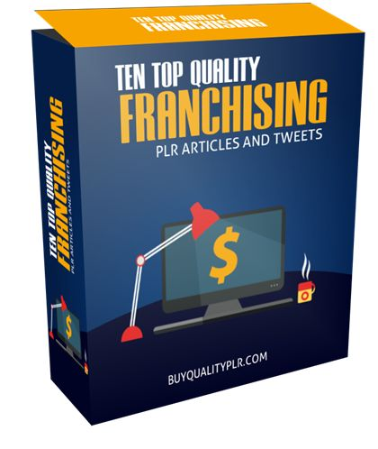 10 Top Quality Franchising PLR Articles and Tweets - http://www.buyqualityplr.com/plr-store/10-top-quality-franchising-plr-articles-tweets/.  #franchising #goodrelationships #buyingafranchise #industry #goodfranchise #law #franchisingopportunity #franchisingFAQ 10 Top Quality Franchising PLR Articles and Tweets In this PLR Content Pack You'll get 10 Top Quality Franchising PLR Articles and Tweets with Private Label Rights to help you....