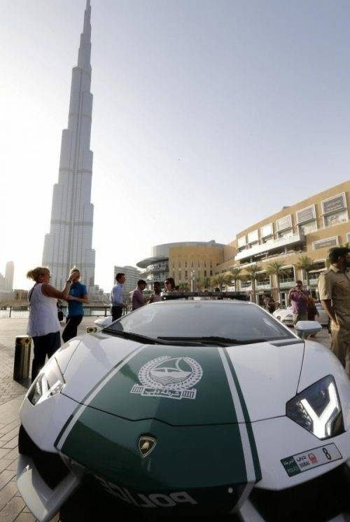 Lamborghini Aventador Police Car In Dubai