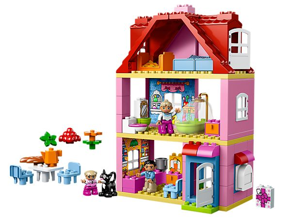 Live in cosy comfort at the LEGO® DUPLO® Play House!