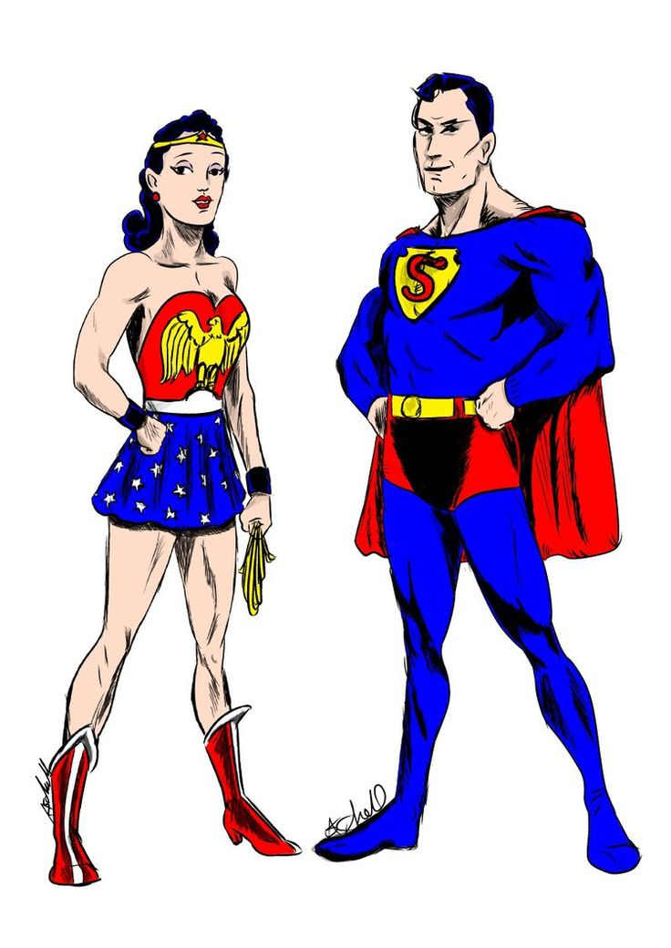 429 best relations superman wonder woman images on - Superman wonder woman cartoon ...