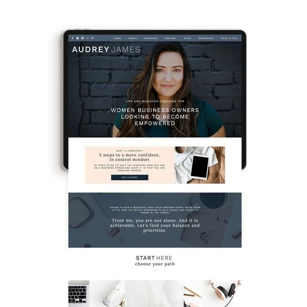 Audrey James Showit Template Just Add Moxie Showit Template Showit Virtual Assistant