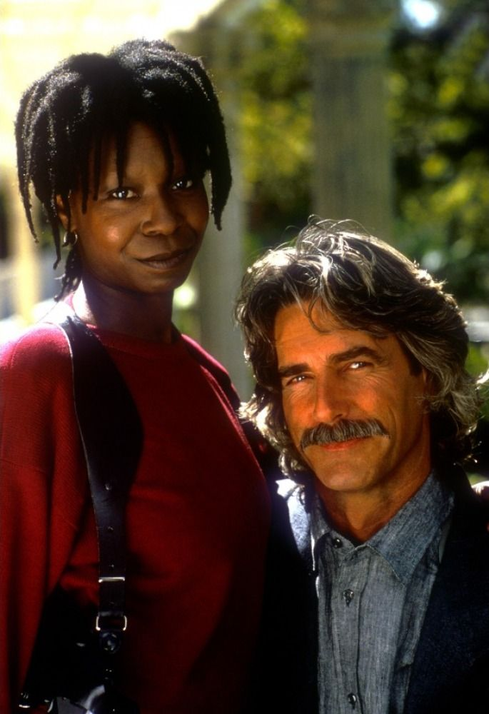 "I love Whoopi Goldberg, too, but this is by far the best picture I could find of Sam Elliot. Again, like Sean Connery, all he has to do is speak. ""Beef. It's what for dinner."" I'll have some, sir...."
