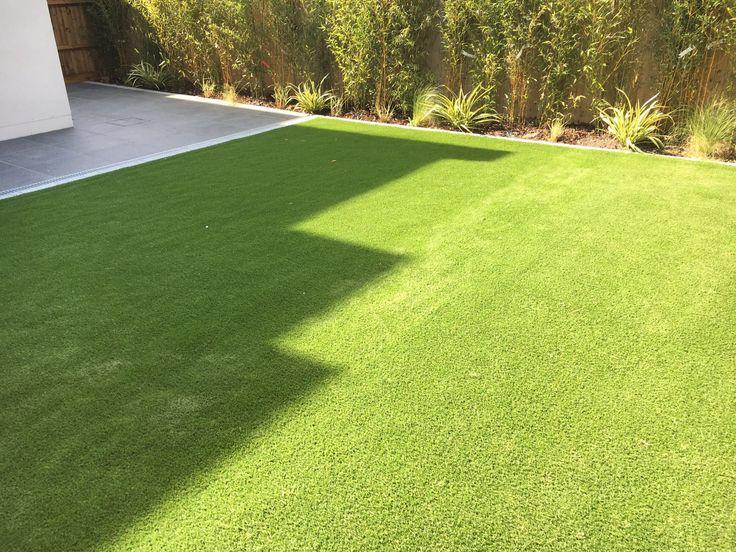 Artificial grass top soil turf