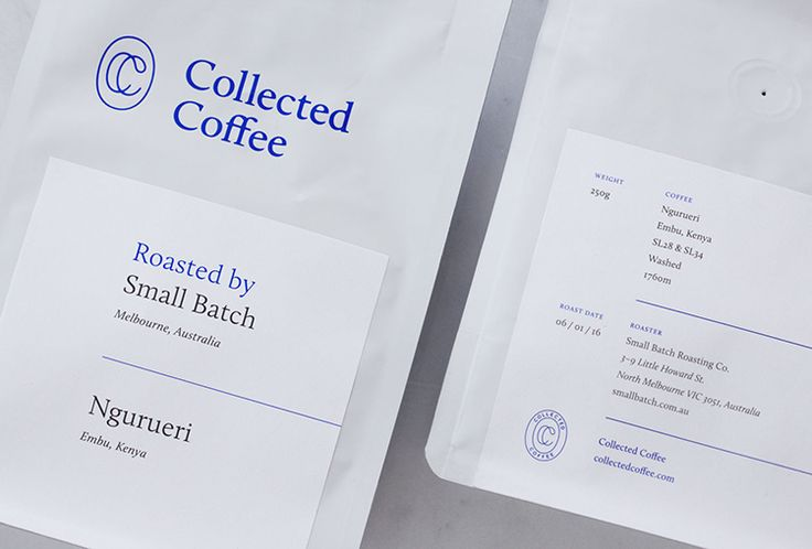 Picture of 2 designed by Fivethousand Fingers for the project Collected Coffee…
