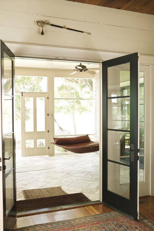 34 best images about sun room or screened porch on for French doors back porch
