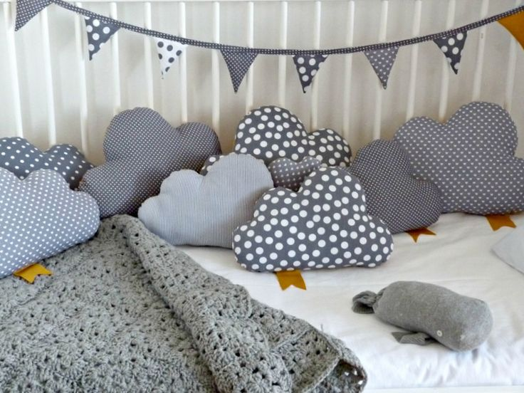 grey shades cloud pillows