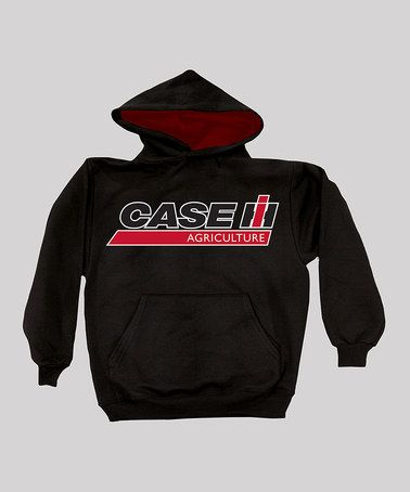 Take a look at this Black & Red 'Case Agriculture' Hoodie - Kids by International Harvester on #zulily today!