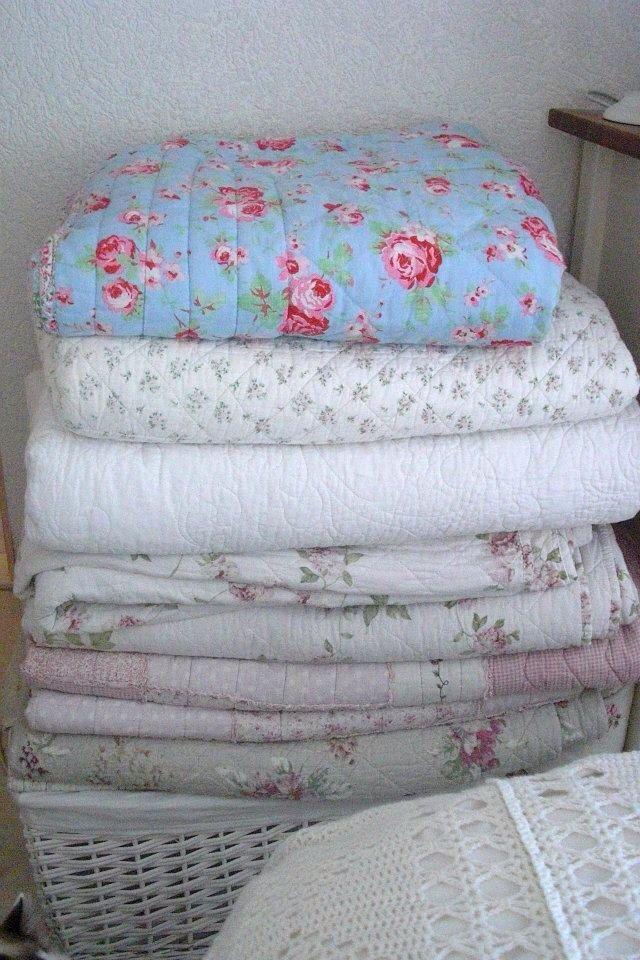quilts met roosjes