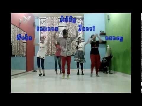 jazz funk girlish dance with belly dance mix on loca by shakira Dance Rockerz Dera Bassi - YouTube