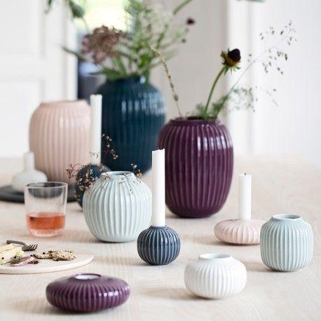 Pakketilbud - Hammershøi vase & 2 stager