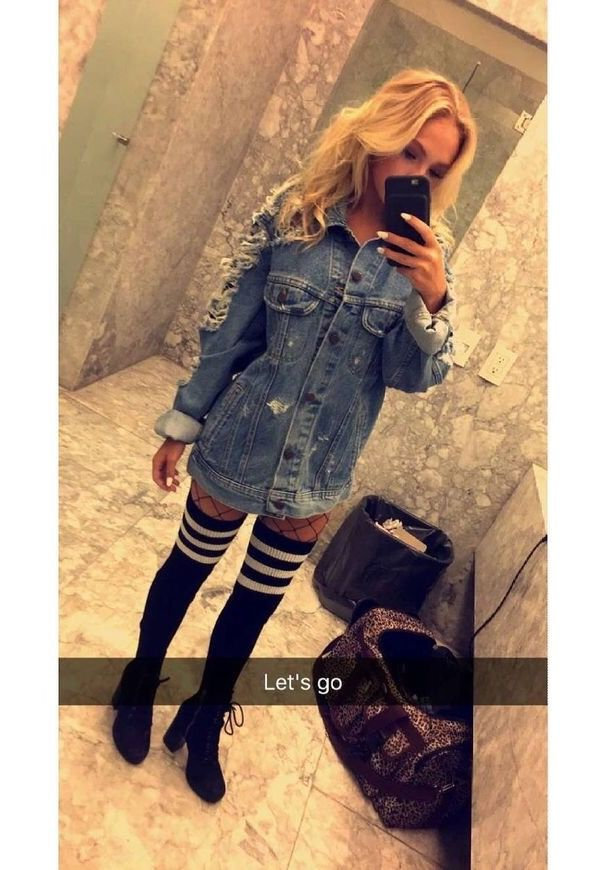 """jordyn) """"my outfit... going with aaron"""""""