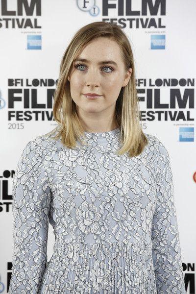 Saoirse Ronan Photos - 'Brooklyn' - Photocall - BFI London Film Festival - Zimbio