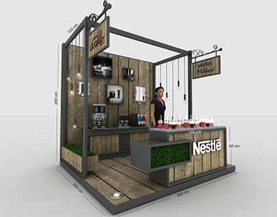 Booth Design Ideas find this pin and more on inspiring trade show booths Nestle Leadership Stand Designbooth