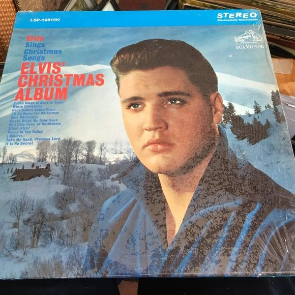 Vintage Elvis Presley RARE Christmas album Vintage and extremely rare still in plastic. All Christmas songs and very valuable. Any questions feel free to ask. Other
