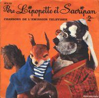 Père Lipopette et Sacripan (par Louis Seigner et Marie-Hélène Breillat) - fiche chanson - B&M