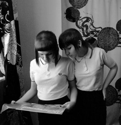 Rude Girls / Skinheads in Fred Perry